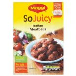 Maggi So Juicy Italian Meatballs 37g